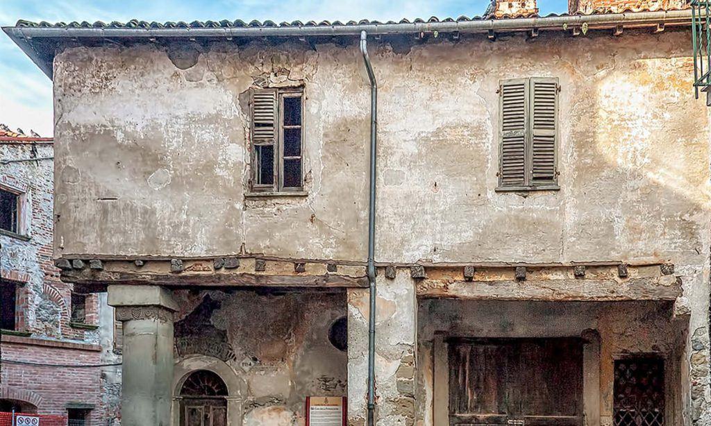 Casa della fondazione di millesimo borghi di riviera for Stili di fondazione di case